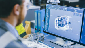 A user implements CAD data protection strategies, including copyright and enhanced security.
